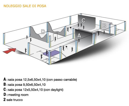inStudio - Pianta