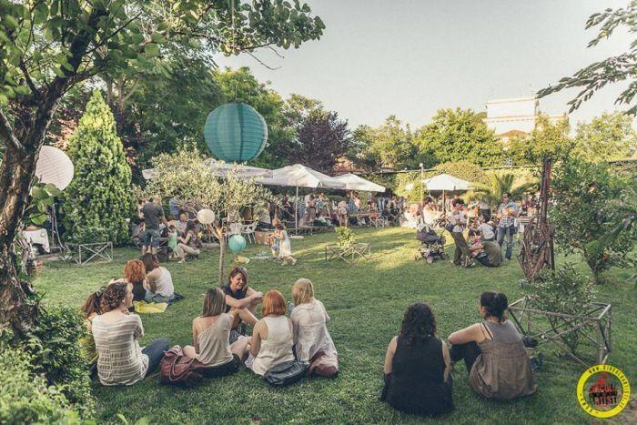 Location il circolo degli artisti a noleggio a roma roma - Il giardino degli artisti ...